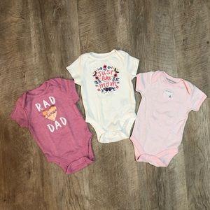Baby Girl Bodysuit Onesie Bundle